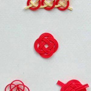 【なのはな結び】の結び方と留め方3パターン/オンライン水引結び講座<基礎編>3