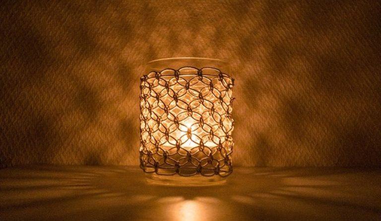 七宝結びの灯り