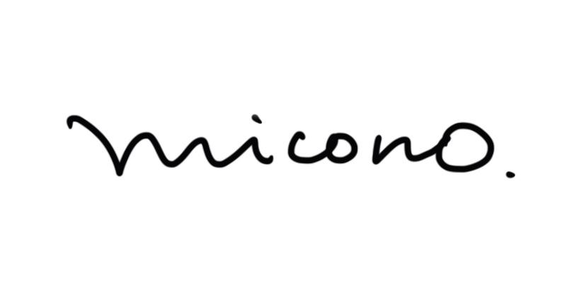 miconoサイン